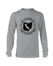CALIFORNIA GIRL LIVING IN OHIO WORLD Long Sleeve Tee thumbnail