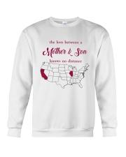 CALIFORNIA ILLINOIS THE LOVE MOTHER AND SON Crewneck Sweatshirt thumbnail