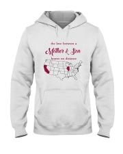 CALIFORNIA ILLINOIS THE LOVE MOTHER AND SON Hooded Sweatshirt thumbnail