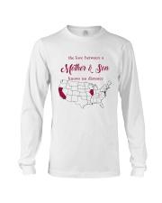 CALIFORNIA ILLINOIS THE LOVE MOTHER AND SON Long Sleeve Tee thumbnail