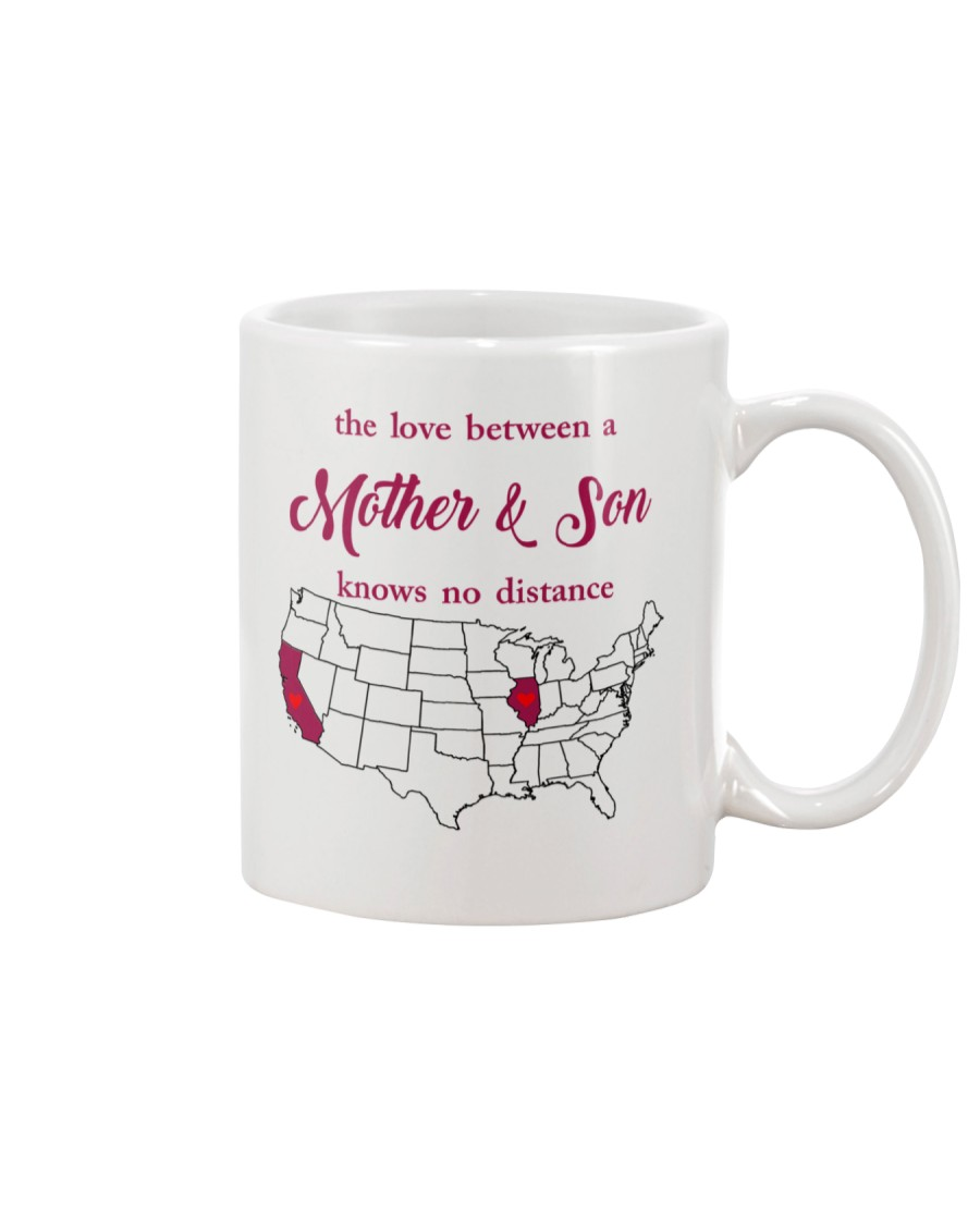CALIFORNIA ILLINOIS THE LOVE MOTHER AND SON Mug