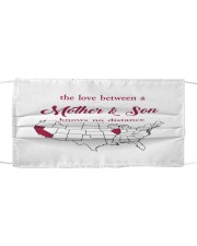 CALIFORNIA ILLINOIS THE LOVE MOTHER AND SON Cloth face mask thumbnail
