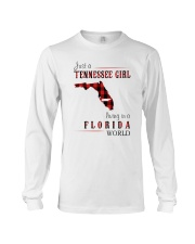 JUST A TENNESSEE GIRL IN A FLORIDA WORLD Long Sleeve Tee thumbnail