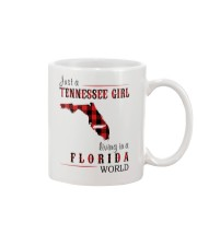 JUST A TENNESSEE GIRL IN A FLORIDA WORLD Mug thumbnail