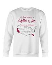 FLORIDA CALIFORNIA THE LOVE MOTHER AND SON Crewneck Sweatshirt thumbnail