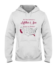 FLORIDA CALIFORNIA THE LOVE MOTHER AND SON Hooded Sweatshirt thumbnail