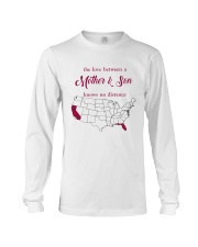 FLORIDA CALIFORNIA THE LOVE MOTHER AND SON Long Sleeve Tee thumbnail