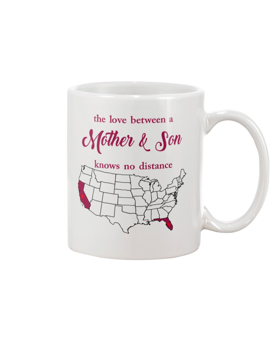 FLORIDA CALIFORNIA THE LOVE MOTHER AND SON Mug