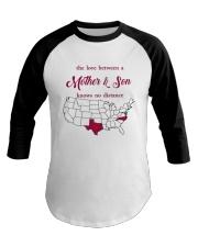 TEXAS NORTH CAROLINA THE LOVE MOTHER AND SON Baseball Tee thumbnail