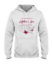 TEXAS NORTH CAROLINA THE LOVE MOTHER AND SON Hooded Sweatshirt thumbnail