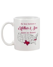 TEXAS NORTH CAROLINA THE LOVE MOTHER AND SON Mug back
