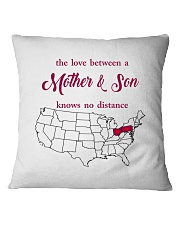 PENNSYLVANIA OHIO THE LOVE MOTHER AND SON Square Pillowcase thumbnail