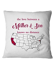 CALIFORNIA MARYLAND THE LOVE MOTHER AND SON Square Pillowcase thumbnail