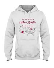 ARIZONA MICHIGAN THE LOVE MOTHER AND DAUGHTER Hooded Sweatshirt thumbnail