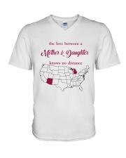 ARIZONA MICHIGAN THE LOVE MOTHER AND DAUGHTER V-Neck T-Shirt thumbnail
