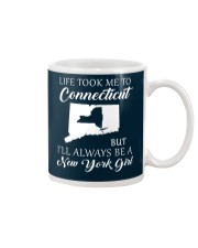 LIFE TOOK ME 2 CONNECTICUT - NEW YORK Mug thumbnail