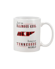 JUST AN ILLINOIS GIRL IN A TENNESSEE WORLD Mug thumbnail