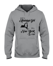 JUST A MISSISSIPPI GIRL IN A NEW YORK WORLD Hooded Sweatshirt thumbnail