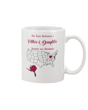 OHIO ALASKA THE LOVE FATHER AND DAUGHTER Mug front