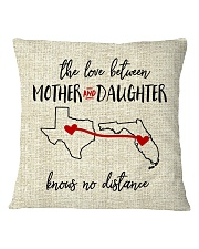 TEXAS FLORIDA THE LOVE MOTHER AND DAUGHTER Square Pillowcase thumbnail