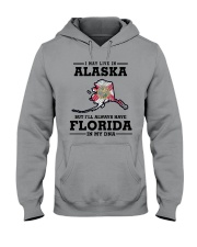 LIVE IN ALASKA BUT I'LL HAVE FLORIDA IN MY DNA Hooded Sweatshirt thumbnail