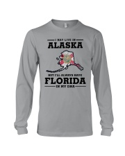 LIVE IN ALASKA BUT I'LL HAVE FLORIDA IN MY DNA Long Sleeve Tee thumbnail
