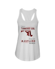 JUST A TENNESSEE GIRL IN A MARYLAND WORLD Ladies Flowy Tank thumbnail