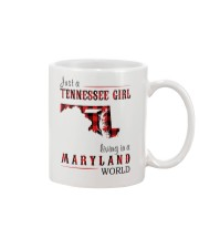 JUST A TENNESSEE GIRL IN A MARYLAND WORLD Mug thumbnail