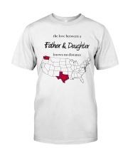 WASHINGTON TEXAS FATHER AND DAUGHTER Classic T-Shirt thumbnail