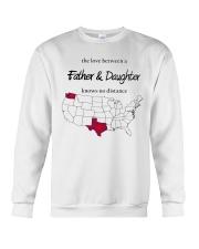 WASHINGTON TEXAS FATHER AND DAUGHTER Crewneck Sweatshirt thumbnail