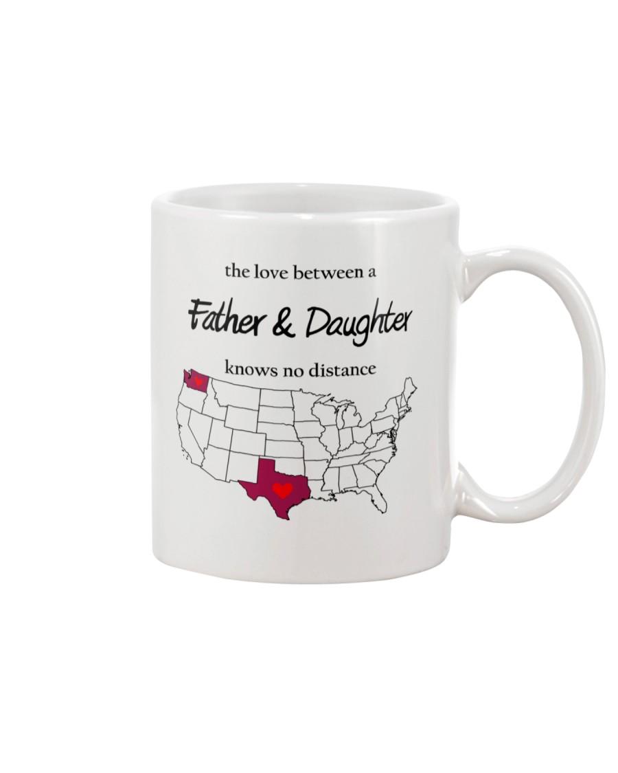 WASHINGTON TEXAS FATHER AND DAUGHTER Mug