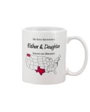 WASHINGTON TEXAS FATHER AND DAUGHTER Mug front