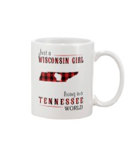 JUST A WISCONSIN GIRL IN A TENNESSEE WORLD Mug thumbnail