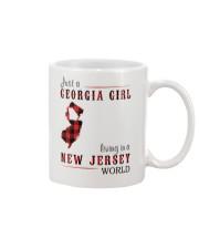 JUST A GEORGIA GIRL IN A NEW JERSEY WORLD Mug thumbnail