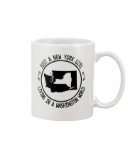 NEW YORK GIRL LIVING IN WASHINGTON WORLD Mug thumbnail