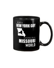 JUST A NEW YORK GUY IN A MISSOURI WORLD Mug thumbnail