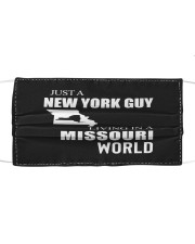 JUST A NEW YORK GUY IN A MISSOURI WORLD Cloth face mask thumbnail