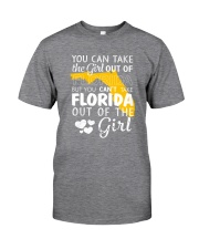 YOU CAN'T TAKE FLORIDA OUT OF THE GIRL Classic T-Shirt thumbnail