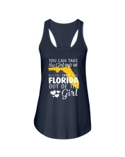YOU CAN'T TAKE FLORIDA OUT OF THE GIRL Ladies Flowy Tank thumbnail
