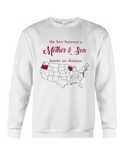 WISCONSIN OREGON THE LOVE MOTHER AND SON Crewneck Sweatshirt thumbnail