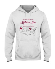 WISCONSIN OREGON THE LOVE MOTHER AND SON Hooded Sweatshirt thumbnail