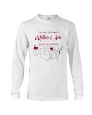 WISCONSIN OREGON THE LOVE MOTHER AND SON Long Sleeve Tee thumbnail