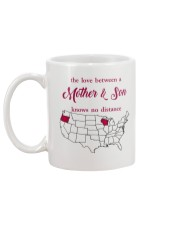 WISCONSIN OREGON THE LOVE MOTHER AND SON Mug back