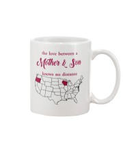 WISCONSIN OREGON THE LOVE MOTHER AND SON Mug front