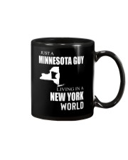 JUST A MINNESOTA GUY IN A NEW YORK WORLD Mug thumbnail