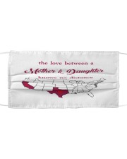 TEXAS CALIFORNIA THE LOVE MOTHER AND DAUGHTER Cloth face mask thumbnail