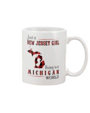 JUST A NEW JERSEY GIRL IN A MICHIGAN WORLD Mug thumbnail