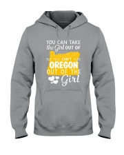 YOU CAN'T TAKE OREGON OUT OF THE GIRL Hooded Sweatshirt thumbnail