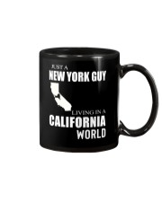 JUST A NEW YORK GUY IN A CALIFORNIA WORLD Mug thumbnail