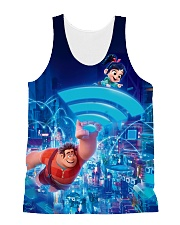 You are a big fan of Ralph breaks the Internet All-over Unisex Tank thumbnail